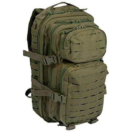 Sac à dos MIL-TEC US Assault 20L Laser Cut Olive