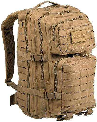 Sac à dos MIL-TEC US Assault 36L Laser Cut Coyote