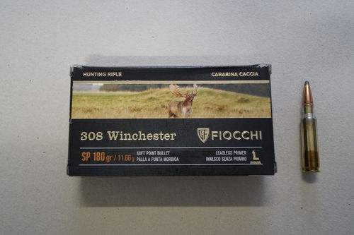 Fiocchi cal 308 Win - 180 grs SP x 20