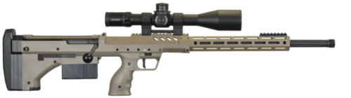 "SRS A2 Rifle cal 308 Win canon 26"" fileté"